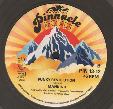 MANKIND - Chain Reaction / Funky Revolution