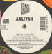AALIYAH - The One I Gave My Heart To (Soul Solution Rmx) / One In A Million (Armand Van Helden Rmx)