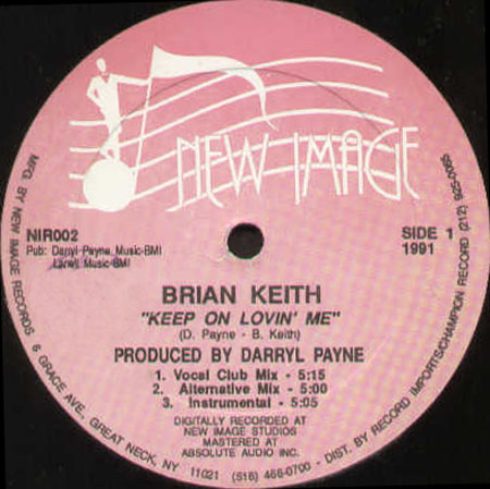 BRIAN KEITH - Runnin' In And Out Of My Life