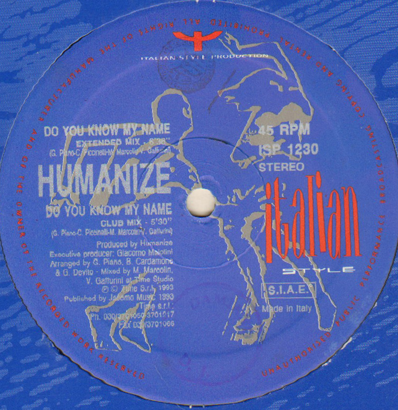 HUMANIZE - Do You Know My Name