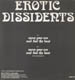 EROTIC DISSIDENTS - Move Your Ass And Feel The Beat