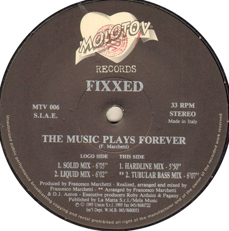 FIXXED - The Music Plays Forever