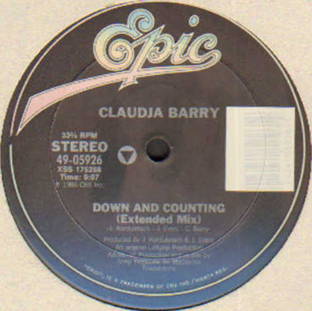 CLAUDJA BARRY - Down And Counting