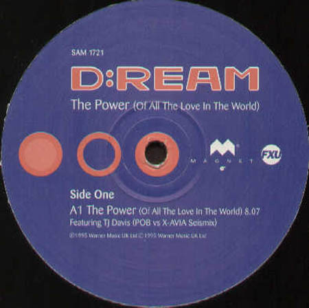 D:REAM - The Power (Of All The Love In The World) (P.O.B. Vs X-Avia, Dekkard And Dane Rmxs)