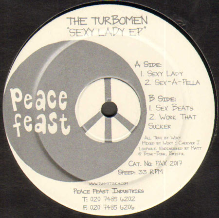 THE TURBOMEN - Sexy Lady EP