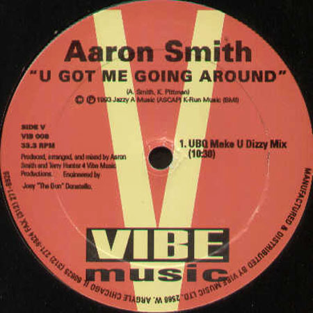 AARON SMITH - U Got Me Going Around EP