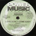 DJ DUKE - Love Don't Come Easy, Presents Freedom, Featuring Lee Smith Jr.