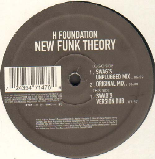H FOUNDATION - New Funk Theory