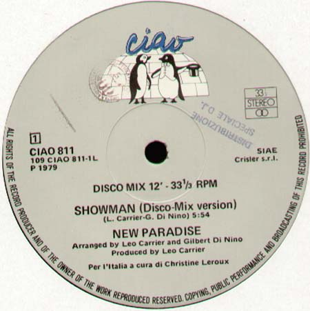 NEW PARADISE - Showman / Love Always Rules The Fools