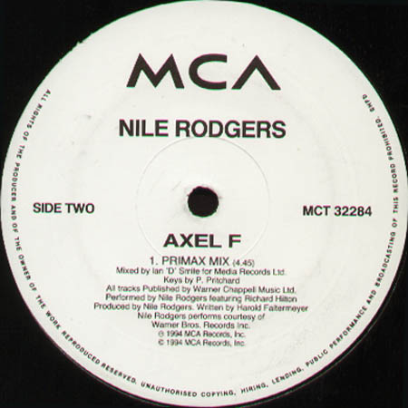 NILE RODGERS - Axel F