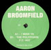 AARON BROOMFIELD - I'm Gonna Miss Ya / Polyphase