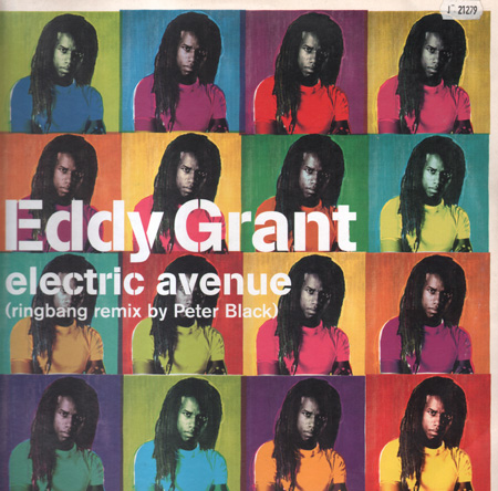 Eddy Grant Electric Avenue Eastwest Vinyl 12 Inch Ew 232t