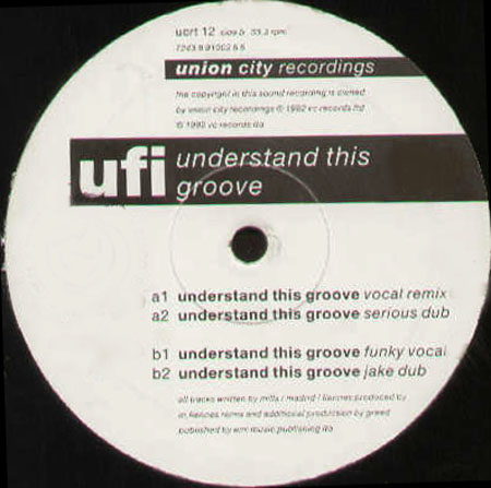 U.F.I. (UNIVERSAL FUNK INDUSTRY) - Understand This Groove