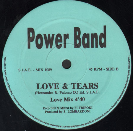 POWER BAND - Love & Tears