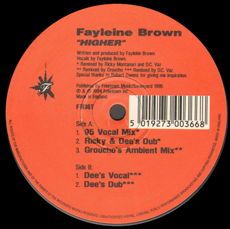 Fayleine Brown - True Love (Remixed)