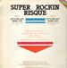 SUPER ROCKIN RISQUE - If It's The Last Thing I Do