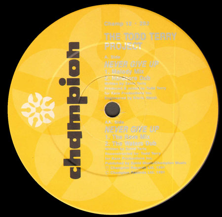 THE TODD TERRY PROJECT - Never Give Up