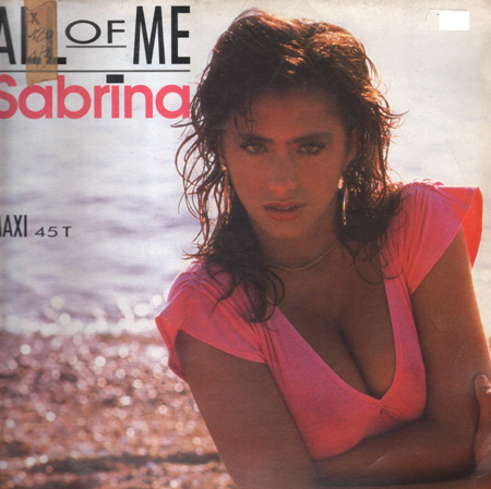 SABRINA - All Of Me - 12 inch x 1
