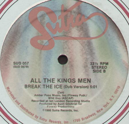 ALL THE KINGS MEN - Break The Ice