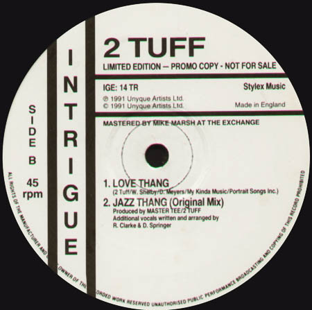 2 TUFF - Jazz Thang (Joey Negro Remix)