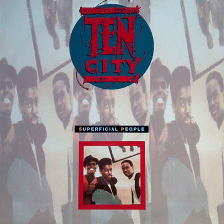 TEN CITY Superficial People Atlantic Vinyl 12 Inch A 7780 T