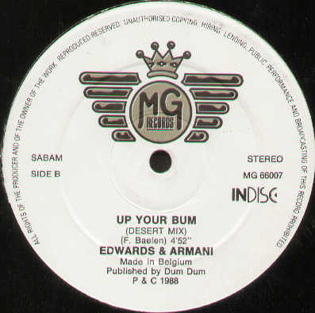 EDWARDS & ARMANI - Up Your Bum
