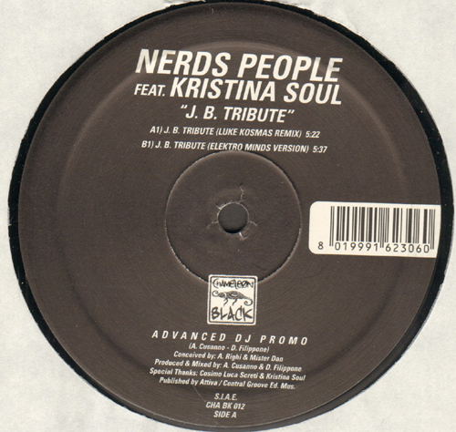 NERDS PEOPLE - J.B. Tribute, Feat. Kristina Soul