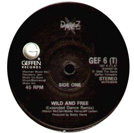 DAZZ BAND - Wild And Free / Last Chance For Love