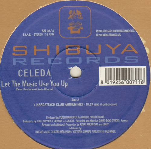 CELEDA - Let The Music Use You Up