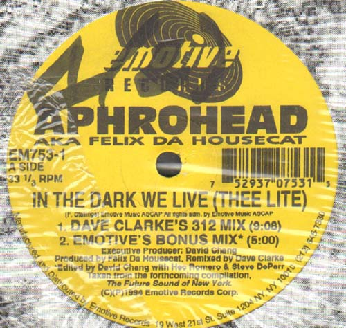 APHROHEAD - In The Dark We Live (Thee Lite)