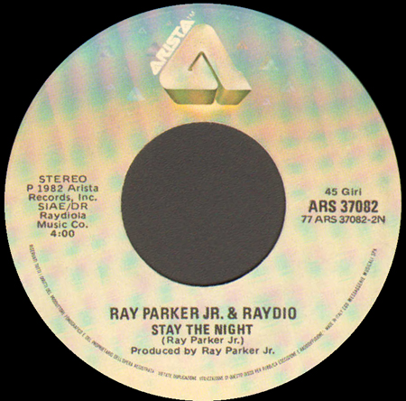 RAY PARKER JR & RAYDIO - The Other Woman / Stay The Night
