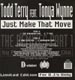 TODD TERRY - Just Make That Move Part One, Feat. Tonya Wynne