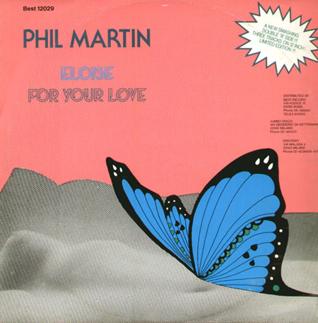 PHIL MARTIN - Eloise / For Your Love