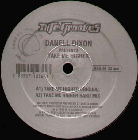 DANELL DIXON - Take Me Higher