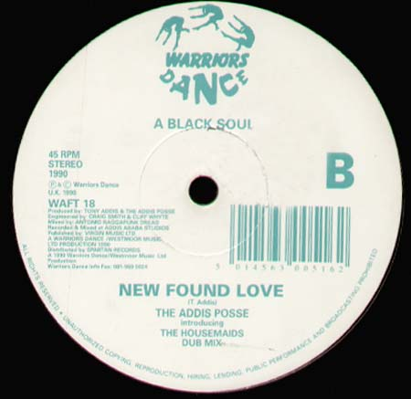 ADDIS POSSE - New Found Love, Feat. Housemaids