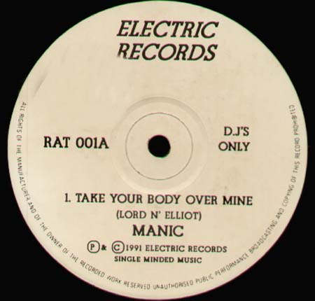 MANIC - Take Your Body Over Mine