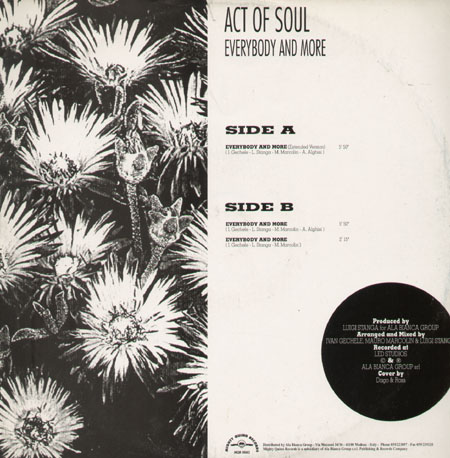ACT OF SOUL - Everybody And More