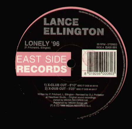 Lance Ellington - Lonely (Joey Musaphia V PTP Mixes)