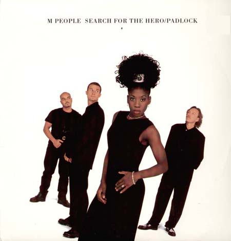M PEOPLE - Search For The Hero / Padlock