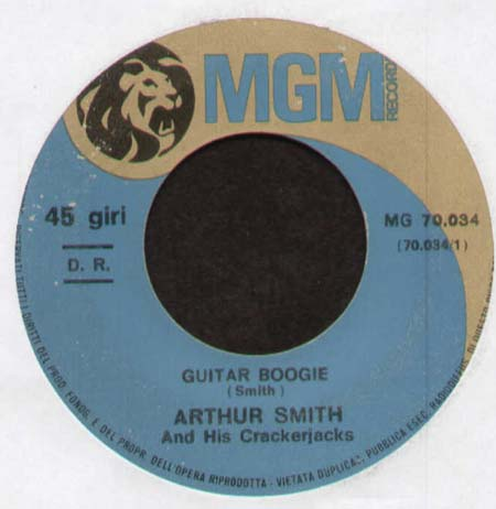 ARTHUR SMITH - Guitar Boogie / Mandolin Boogie