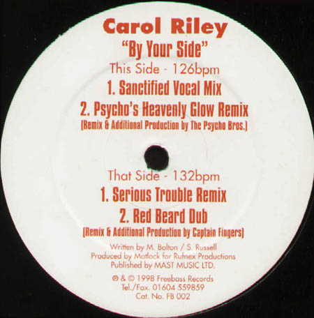 CAROL RILEY - By Your Side
