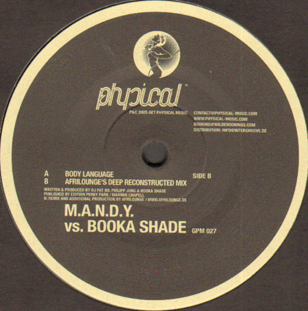 M.A.N.D.Y. VS. BOOKA SHADE - Body Language