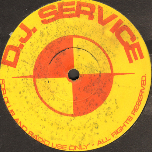 VARIOUS (UNKNOWN ARTISTS / ART OF NOISE) - DJ Service Volume 4 EP (Untitled / Moments In Love / Beatbox)