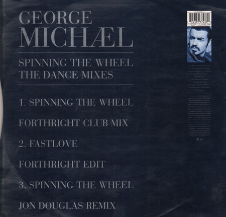 George Michael Spinning The Wheel The Dance Mixes Virgin