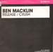 BEN MACKLIN - Release / Crush