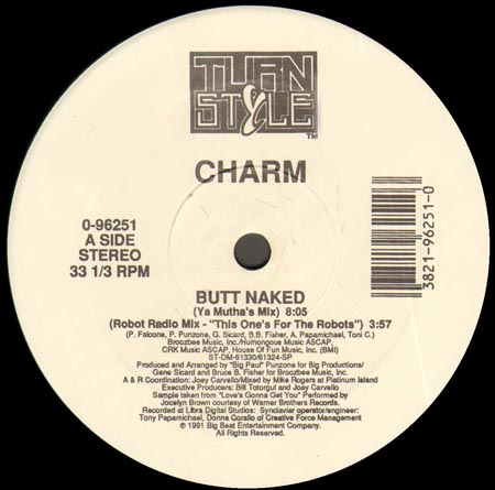 Butt naked charm