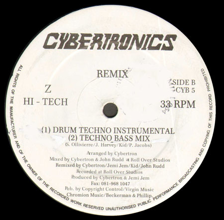 CYBERTRON - Z Hi-Tech Remix