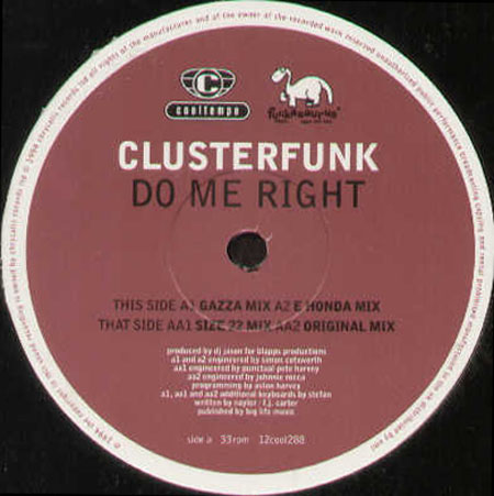 Clusterfunk - 'Inside' Original Mixes