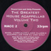 VARIOUS - The Greatest House Acappellas Volume Two