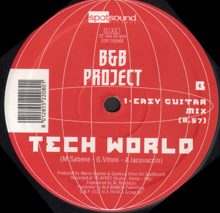 B & B PROJECT - Tech World